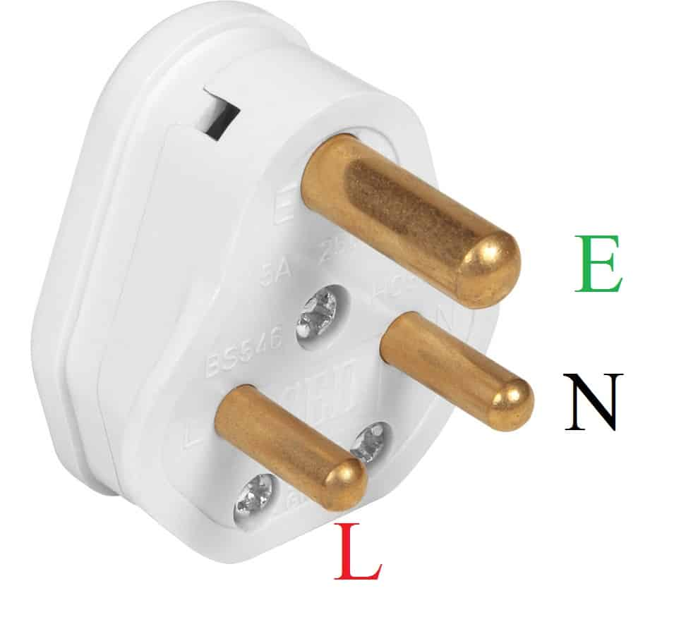 Three pin plug