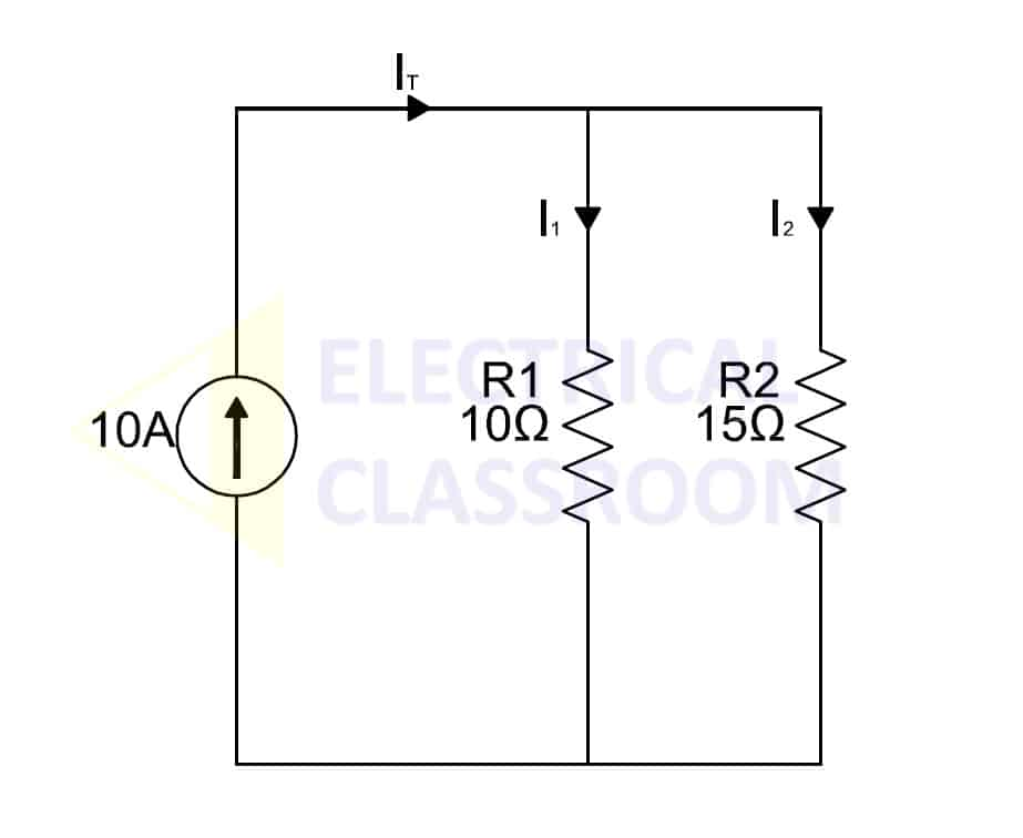 Current division rule and current divider circuit