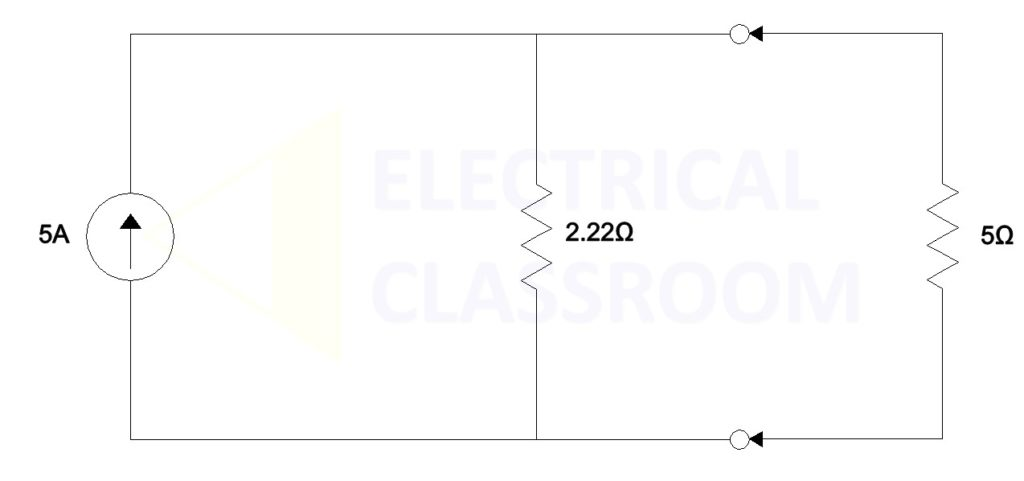 Norton's equivalent circuit