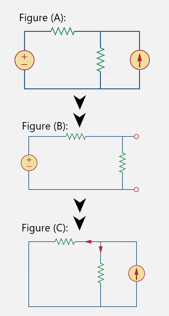 Superposition Theorem voltage source replacement