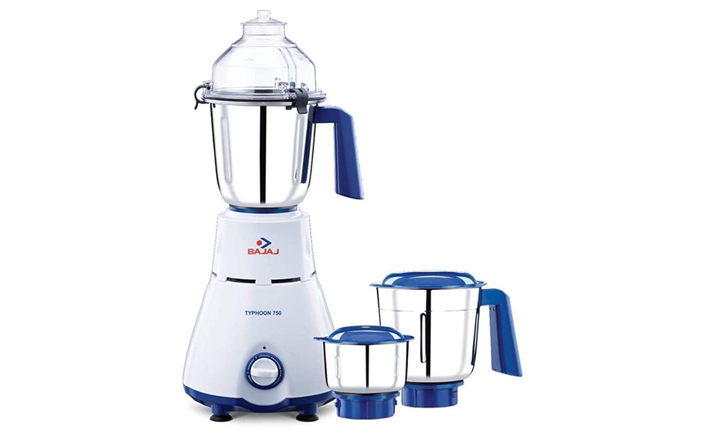 Energy usage of mixer grinders
