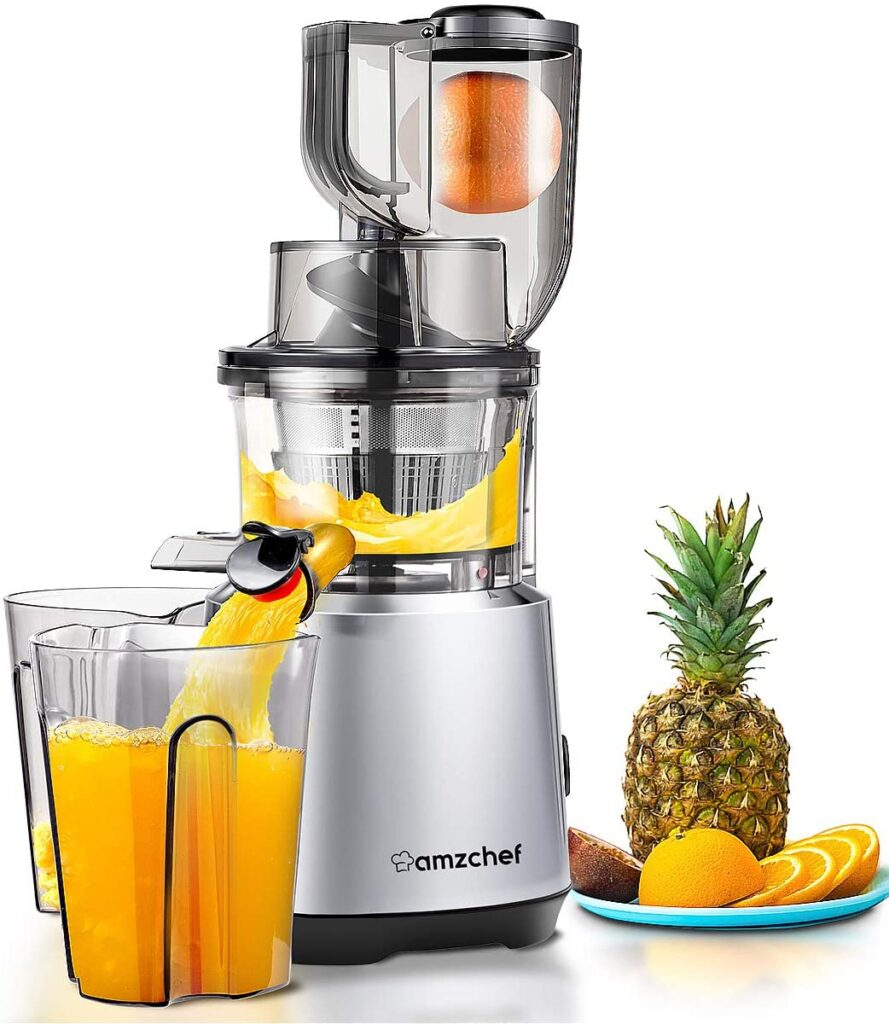Power consumption and energy usage of juicers