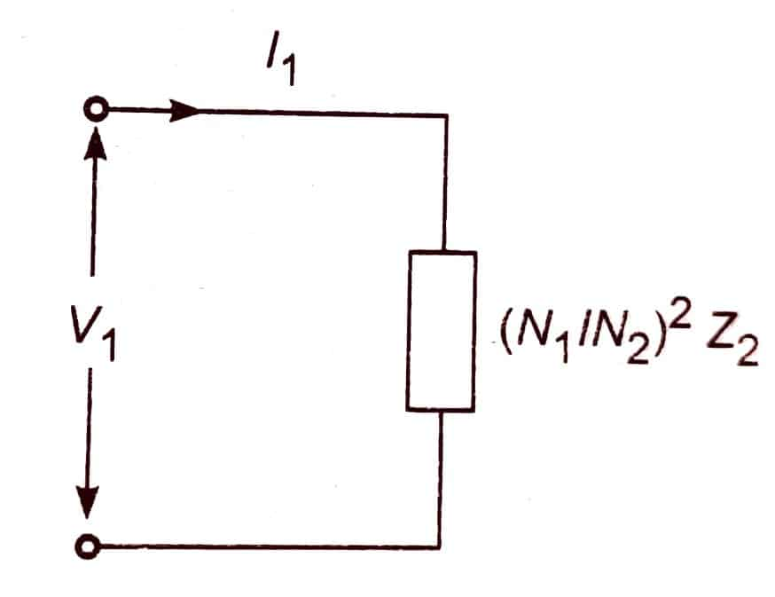 schematic diagram of ideal transformer. png