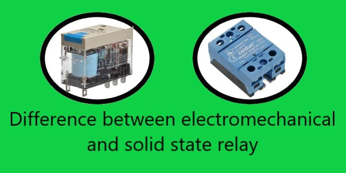 Electromechanical vs solid-state relay
