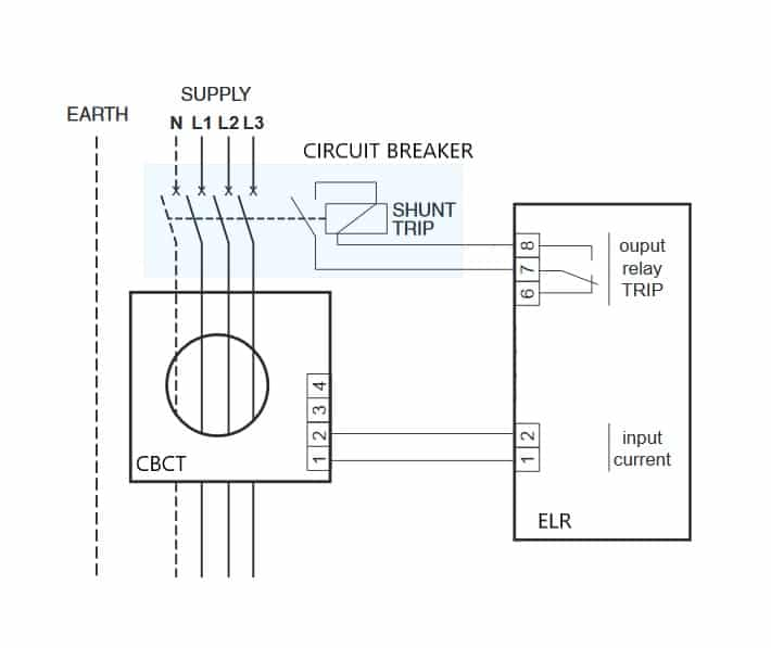 Earth Leakage Relay Elr